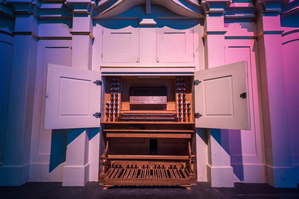 A view of the organ