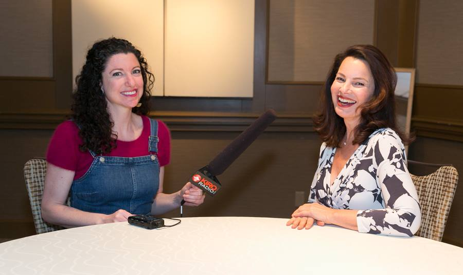 Rachel Belle with Fran Drescher