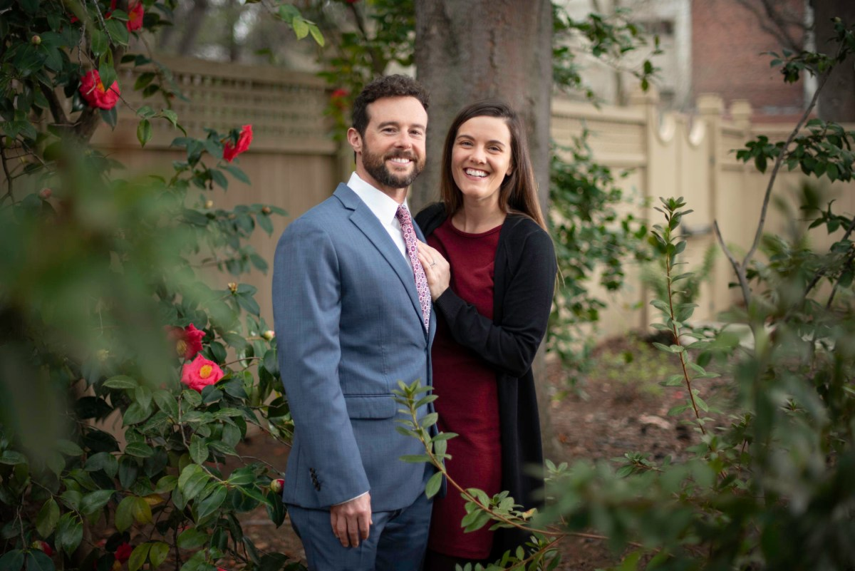 Portrait of Nick Lynch and Janet McCue