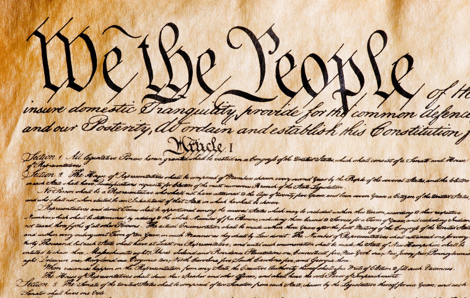 Are There Holes In The Constitution