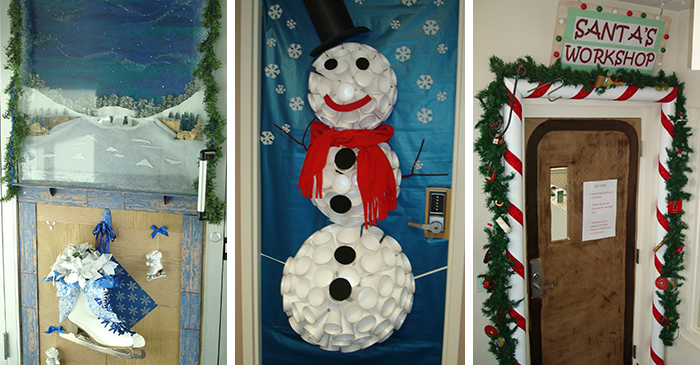 The Christmas Season Is Rapidly Approaching And With It Comes Office Of Human Resources Third Annual Door Decorating Contest