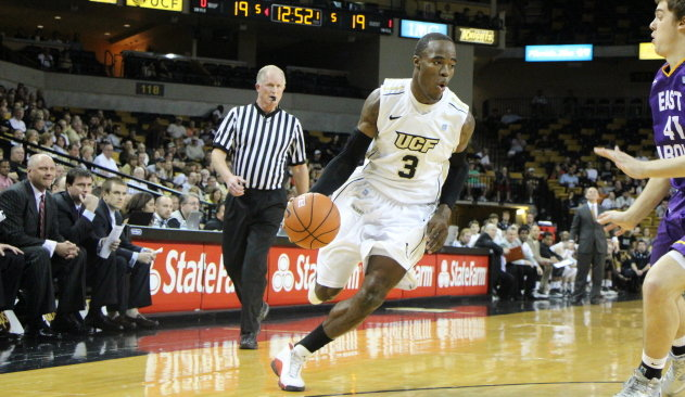Basketball UCF Moves Into Second Place Tie University