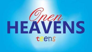 Open Heaven For Teens 21 October 2021
