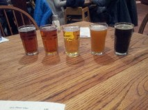 South Padre Brewing Flight