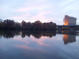 Sunset on the Lady Bird Lake