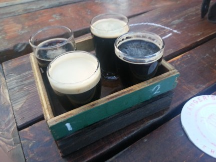 Stout Flight @ Banger's on Rainey