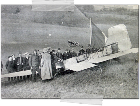 Louis Blériot plane 1909