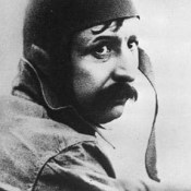 First Flight of an Airplane Across the English Channel by Louis Blériot