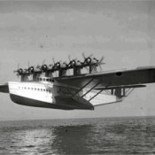 First Flight of the Dornier Do X, a 12 Engine Flying Ship