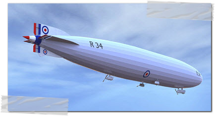 first double crossing r34 airship