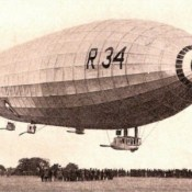 First Double Crossing of the Atlantic: the R34 Airship