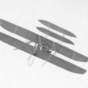 First Test Flight of World's First Military Airplane: The Wright Military Flyer