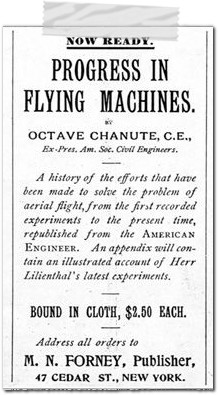 progress in flying machines otto lilienthal