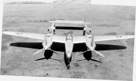 lockheed xp 38 pilot crash