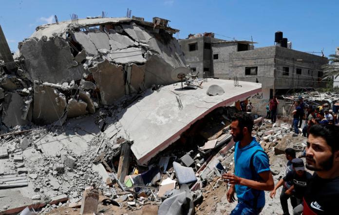 Israeli Airstrikes Destroy Gaza Strip's Only Covid Testing Laboratory