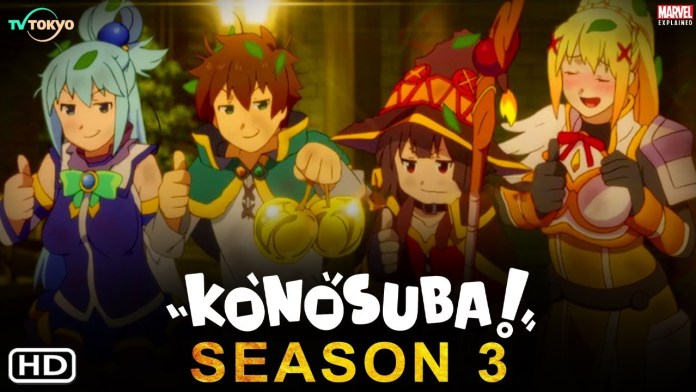 Konosuba Season 3: Release Date, Renewal Status, Plot, and Everything Else You Need to Know