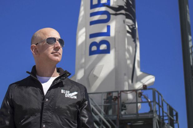 Several People Sign Petition to Stop Jeff Bezos from Returning to Earth After his Space Trip