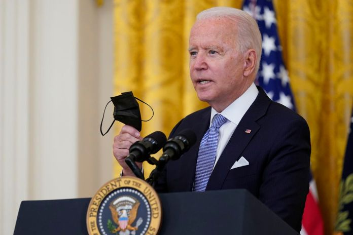 Joe Biden Mandates COVID-19 Vaccinations for Federal Workers, Or Else Get Regularly Tested