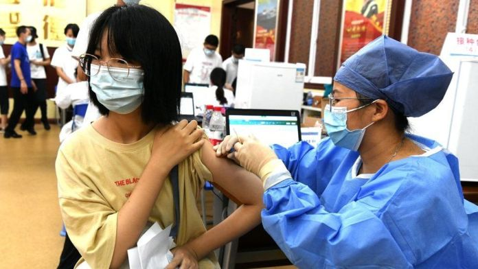 China Pushes to Vaccinate Minors Against COVID-19 Amid Recent Surge of Infections