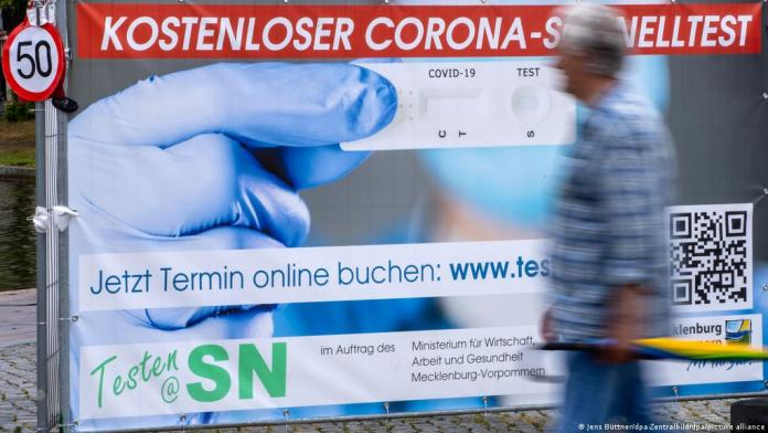 Germany to End Free COVID-19 Testing for its Citizens in October