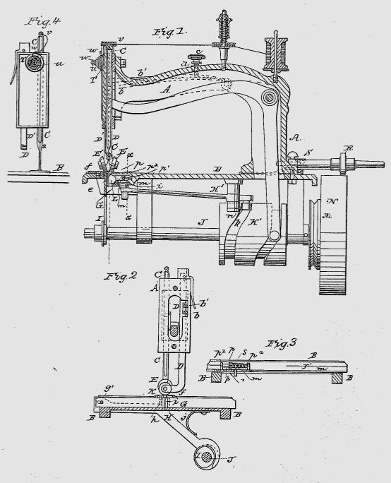 April 40 The Sewing Machine Patent Wars Today In Connecticut History Stunning Patent For Sewing Machine