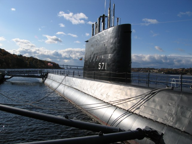 The USS Nautilus, the world's first nuclear submarine, is now a floating museum open to the public.