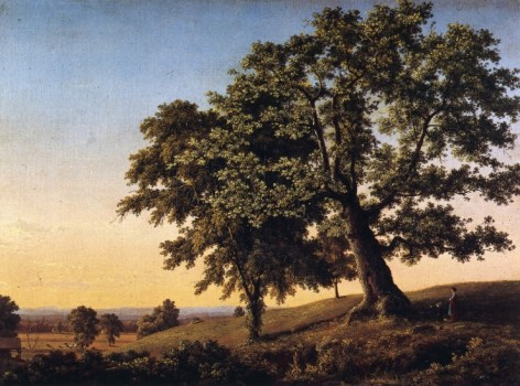 The Charter Oak, by Frederic Edwin Church (1846)