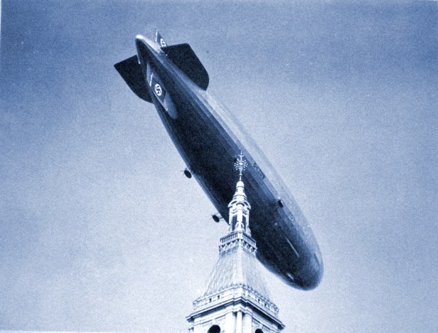 October 9: The Hindenburg Flies Over Connecticut