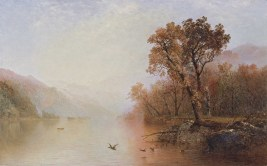 "John Frederick Kensett, ""Lake George,"" c. 1860-1869. (Museo Thyssen-Bornemisza)"