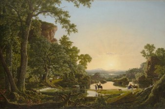 Hooker and Company Journeying Through the Wilderness. Wadsworth Athenaeum