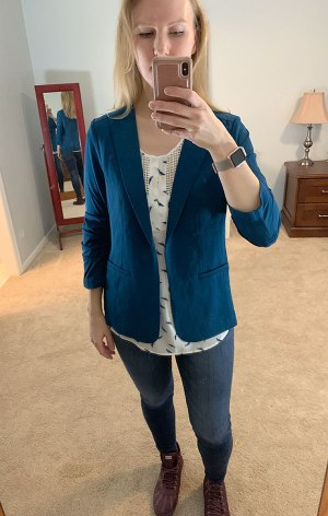 November Stitch Fix Try-On, Madewell High Rise Skinny Jeans