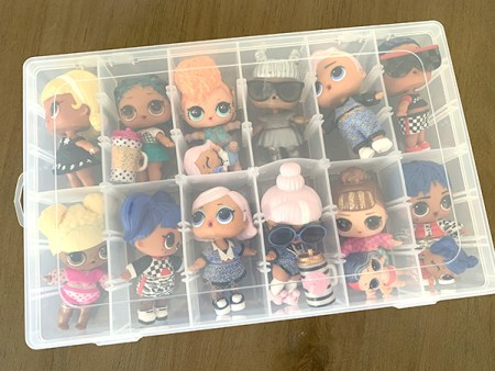 LOL Doll Storage Container