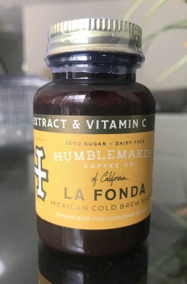 Humblemaker Cold Brew Coffee Shot La Fonda