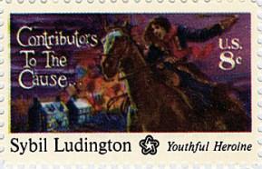 Sybil_Ludington_stamp