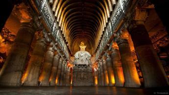 stupa at Ajanta caves