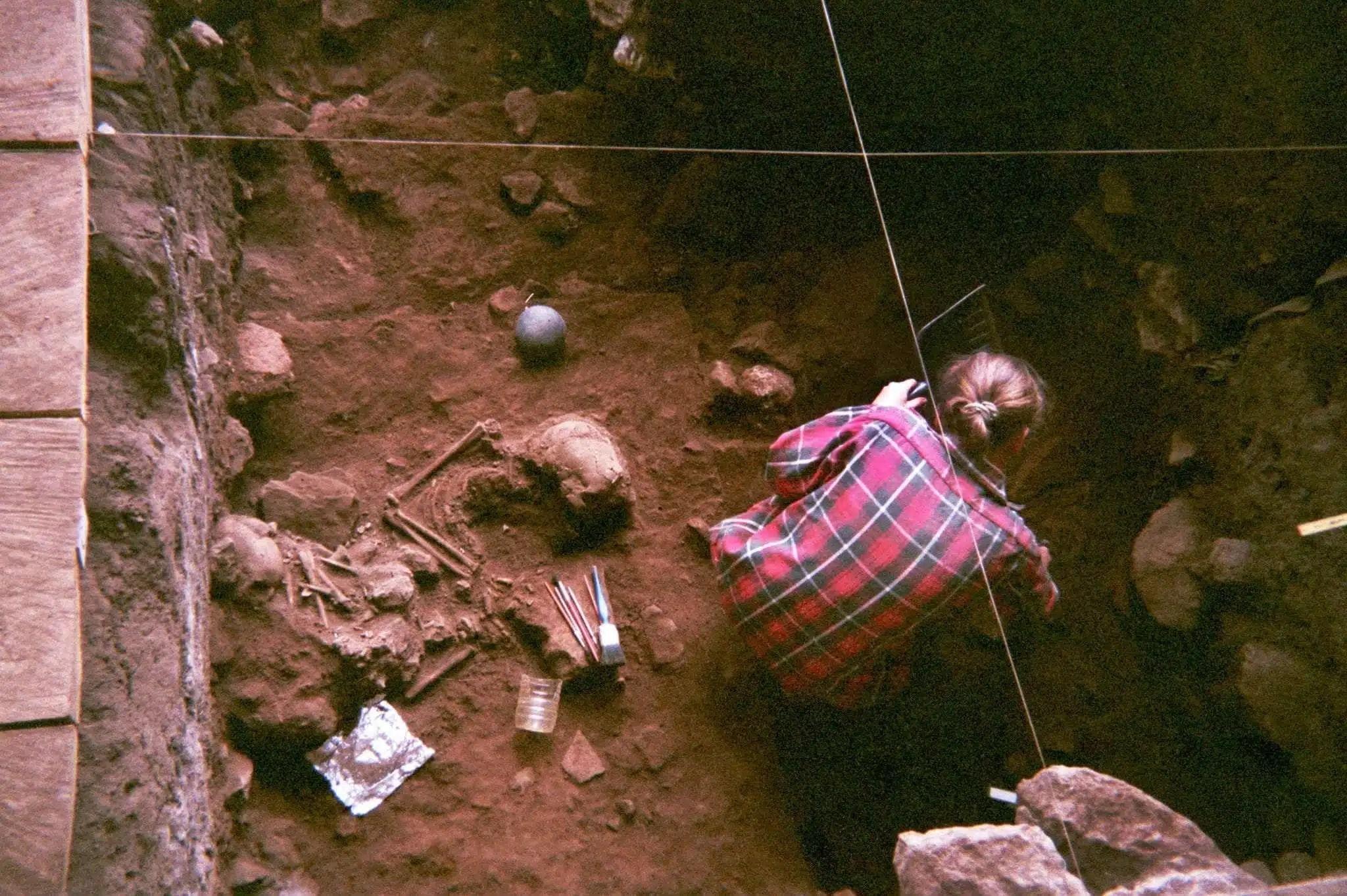 The Shum Laka rock shelter in Cameroon