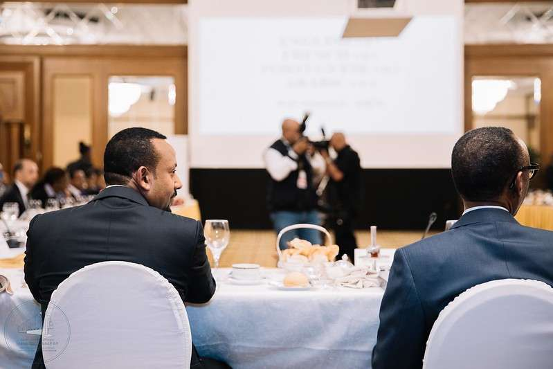 Prime Minister Abiy Ahmed at the African Union in 2028