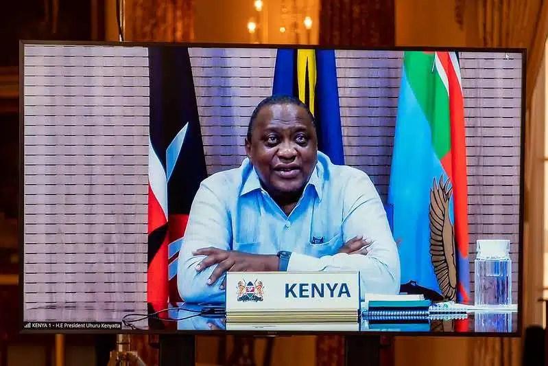 Secretary of State Antony J. Blinken meets virtually with Kenyan President Uhuru Kenyatta and Cabinet Secretary for Foreign Affairs Ambassador Raychelle Omamo
