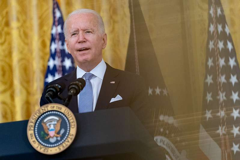 President Joe Biden delivers remarks on COVID-19 and the economy