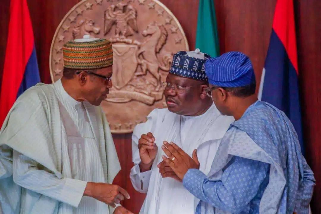 President Muhammadu Buhari; President of the Senate