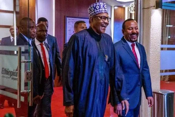 Buhari of Nigeria and Abiy Ahmed of Ethiopia