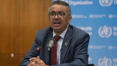 WHO Director-General Dr Tedros Adhanom Ghebreyesus.
