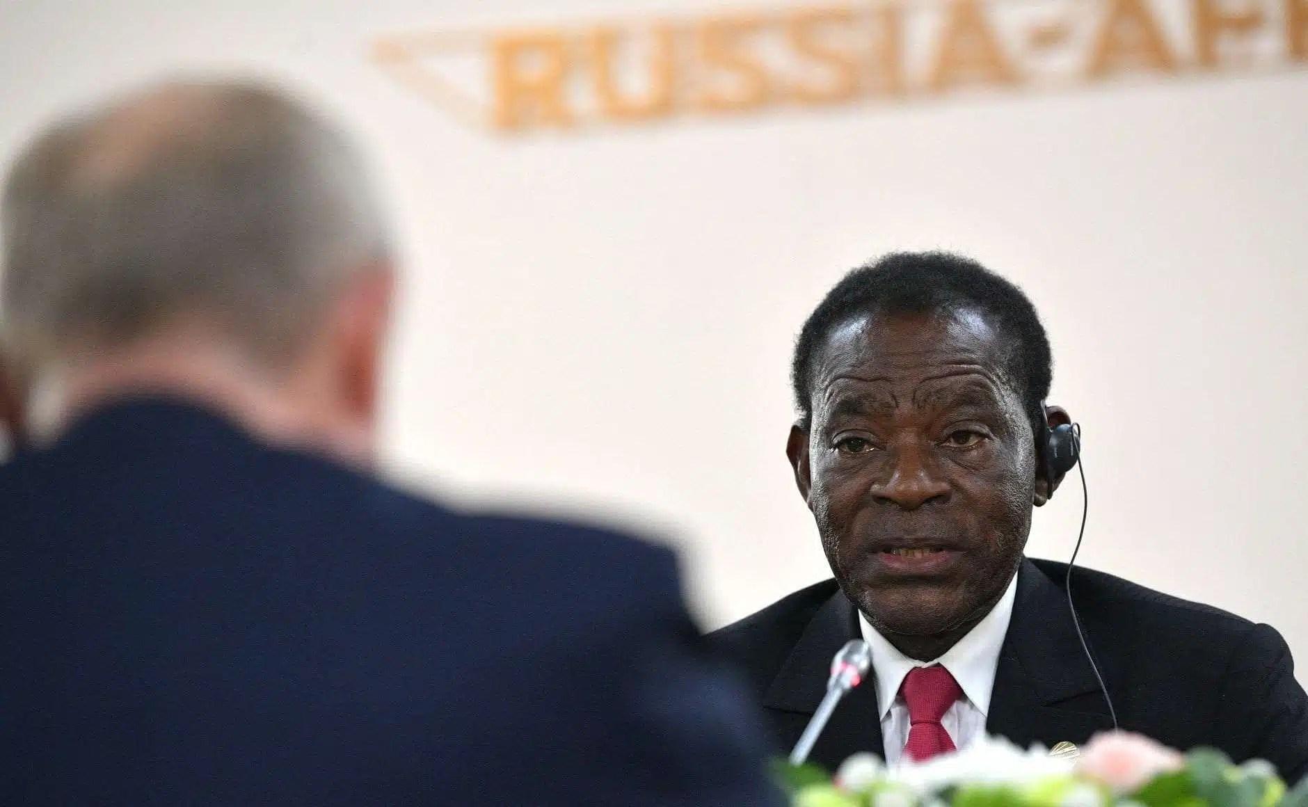 President Teodoro Obiang Nguema Mbasogo.