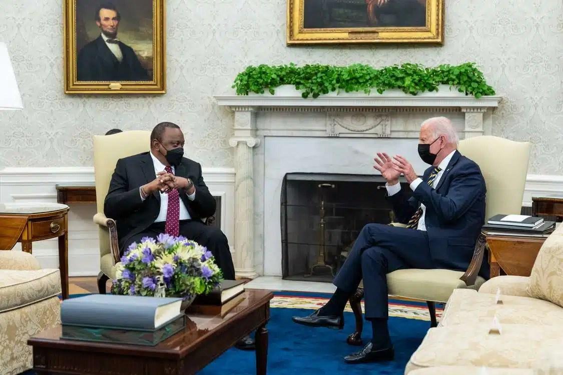 Biden Kenyatta