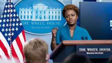 White House Principal Deputy Press Secretary Karine Jean-Pierre holds a press briefing on Friday, July 30, 2021, in the James S. Brady Press Briefing Room of the White House. (Official White House Photo by Erin Scott)