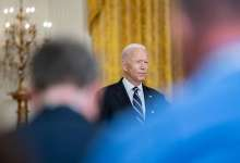 President Joe Biden delivers remarks about the COVID-19 response and vaccination program, Wednesday, August 18, 2021, in the East Room of the White House. (Official White House Photo by Carlos Fyfe)
