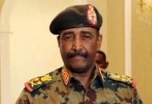 General Abdel Fattah Al-Burhan on February 6, 2020 [Twitter]