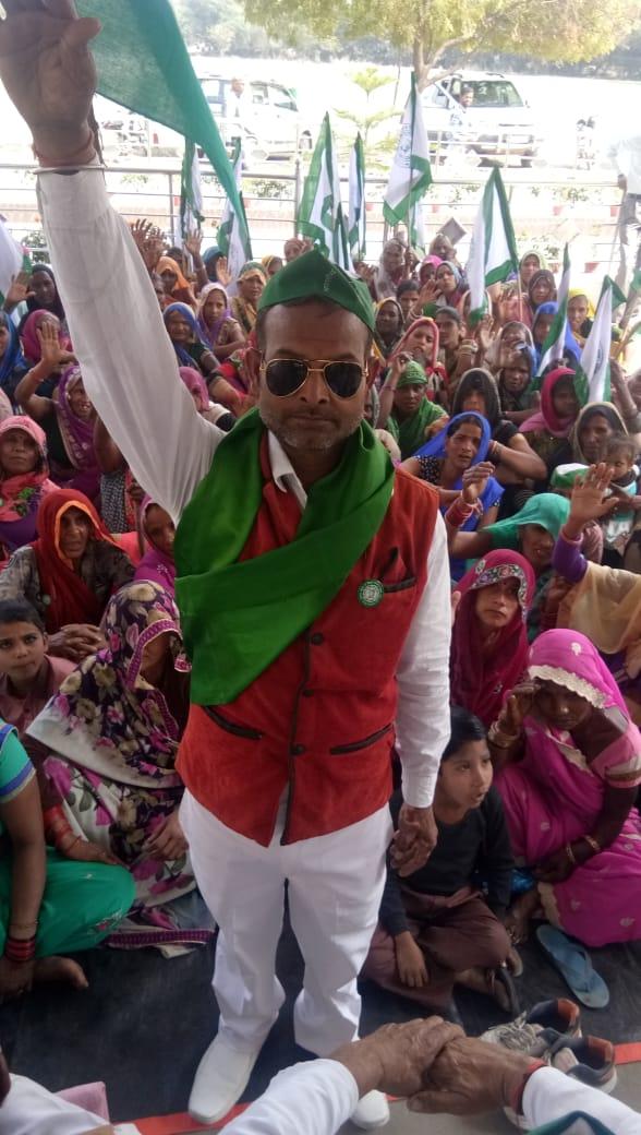 भा०की०यू० (लोक शक्ति) ने कानपुर जिले में किया संगठन का विस्तार..........