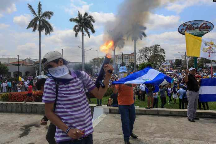 Easter Processions Become Protests in Nicaragua