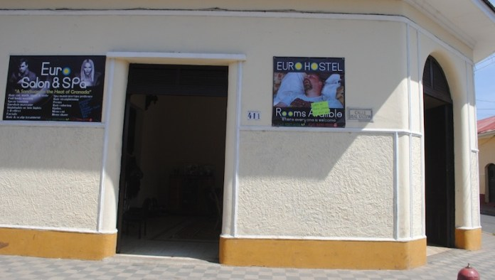 The Euro Salon & Spa where Ana Alliegro worked in Granada